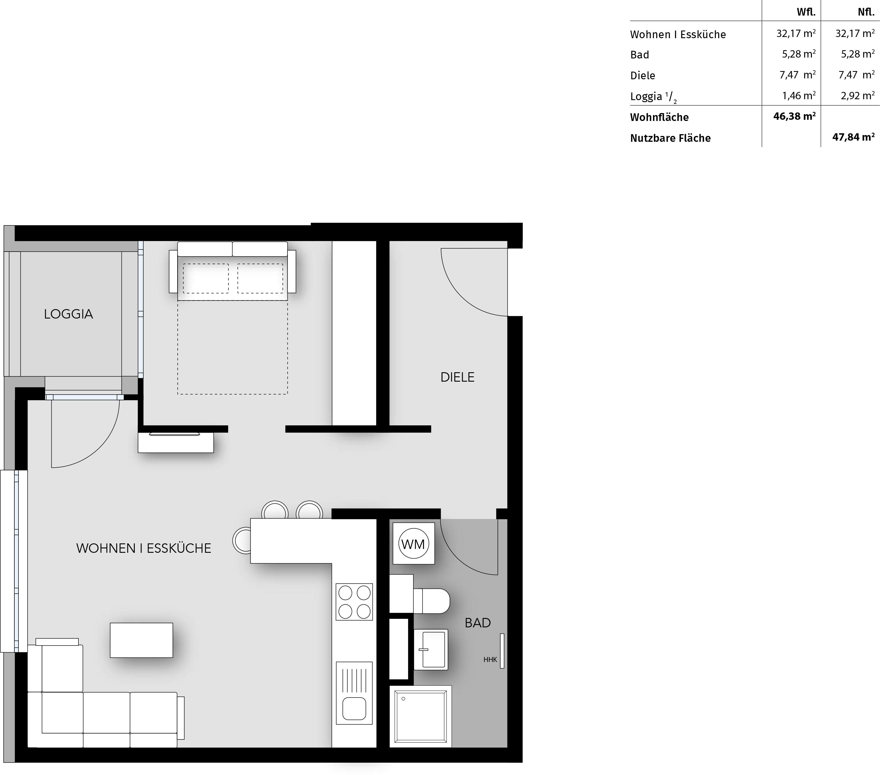 Bayhaus immobilien wohnen am s dpark for Motel one zimmer grundriss